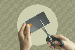 A photo to accompany a story about what to do with an unused credit card