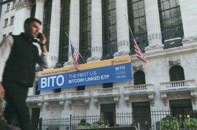 A new Bitcoin-linked fund debuted on the New York Stock Exchange Tuesday morning, bringing crypto one step closer to conventional investment accounts.