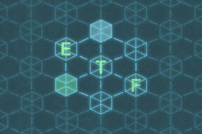 An image to accompany a story about investing in blockchain ETFs