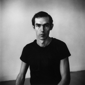 Self-Portrait in Black T-Shirt, 1976, Peter Hujar Archive—Courtesy Pace/MacGill Gallery