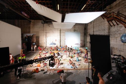 """Alex Prager """"Face In The Crowd"""" Set Stills"""