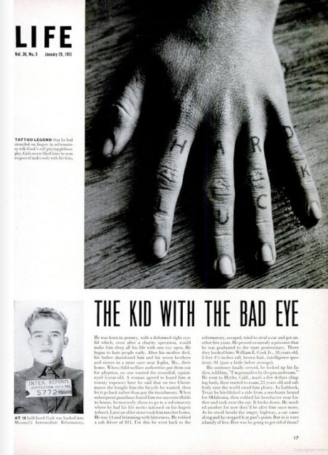 'The Kid With the Bad Eye,' LIFE magazine, Jan. 29, 1951
