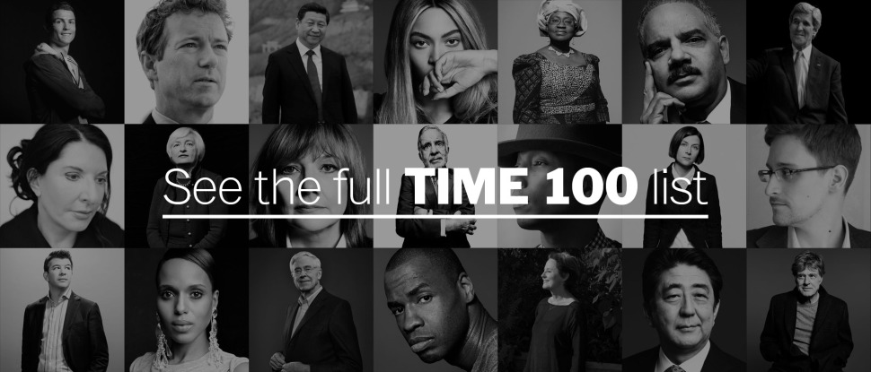 See the full TIME 100 list