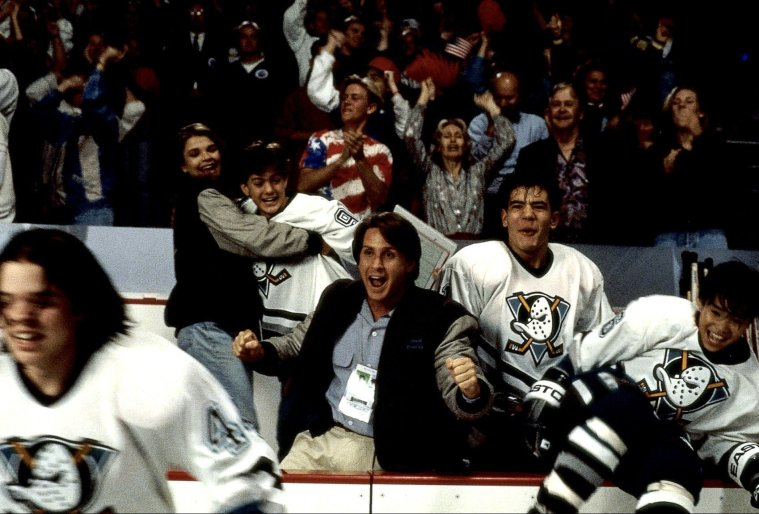 D2: The Mighty Ducks celebration