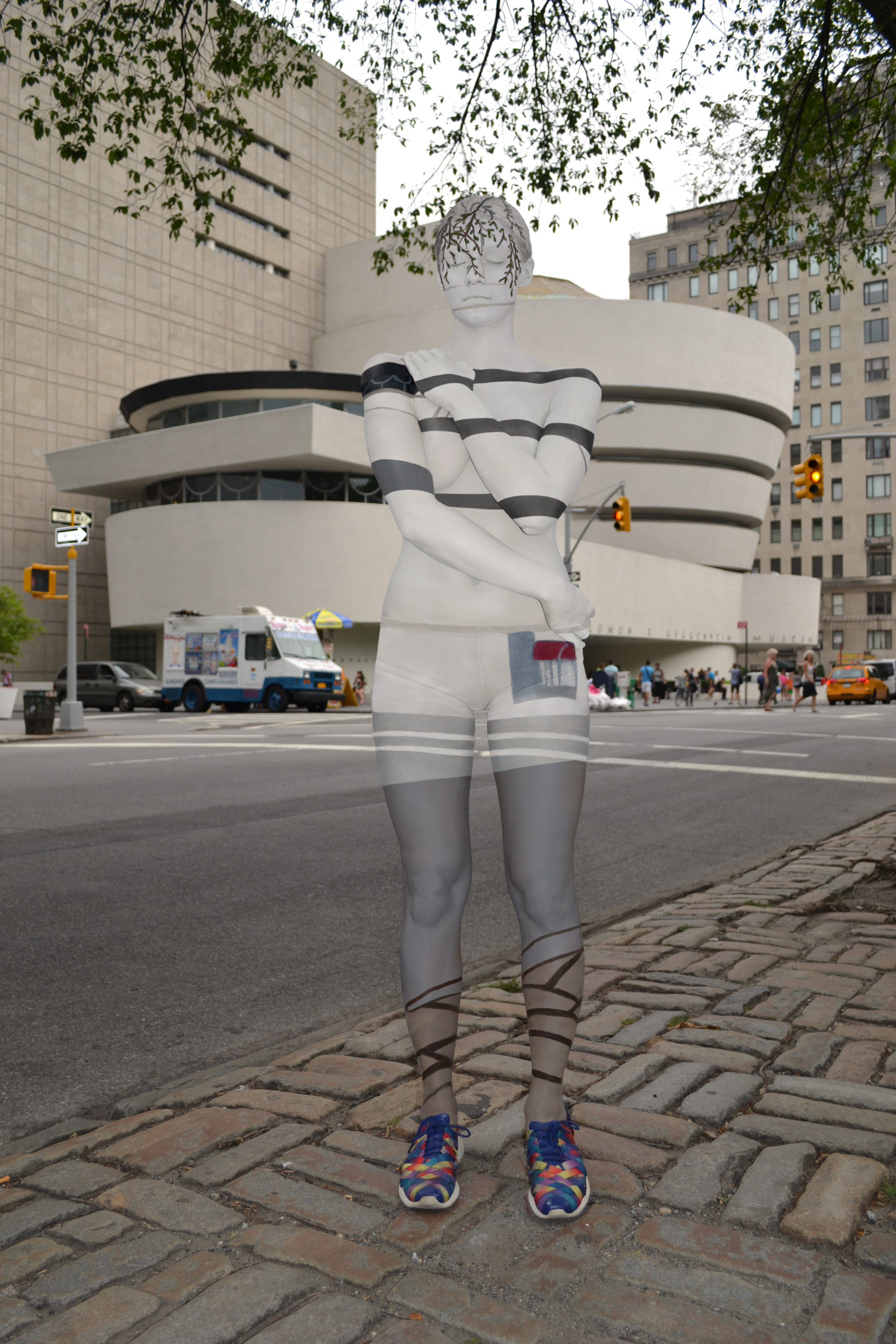 Body Paint Turned Naked Models Into Nyc Landmarks Time Com