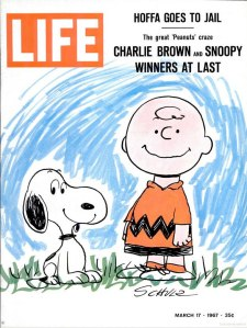 Snoopy and Charlie Brown, LIFE magazine, 1967