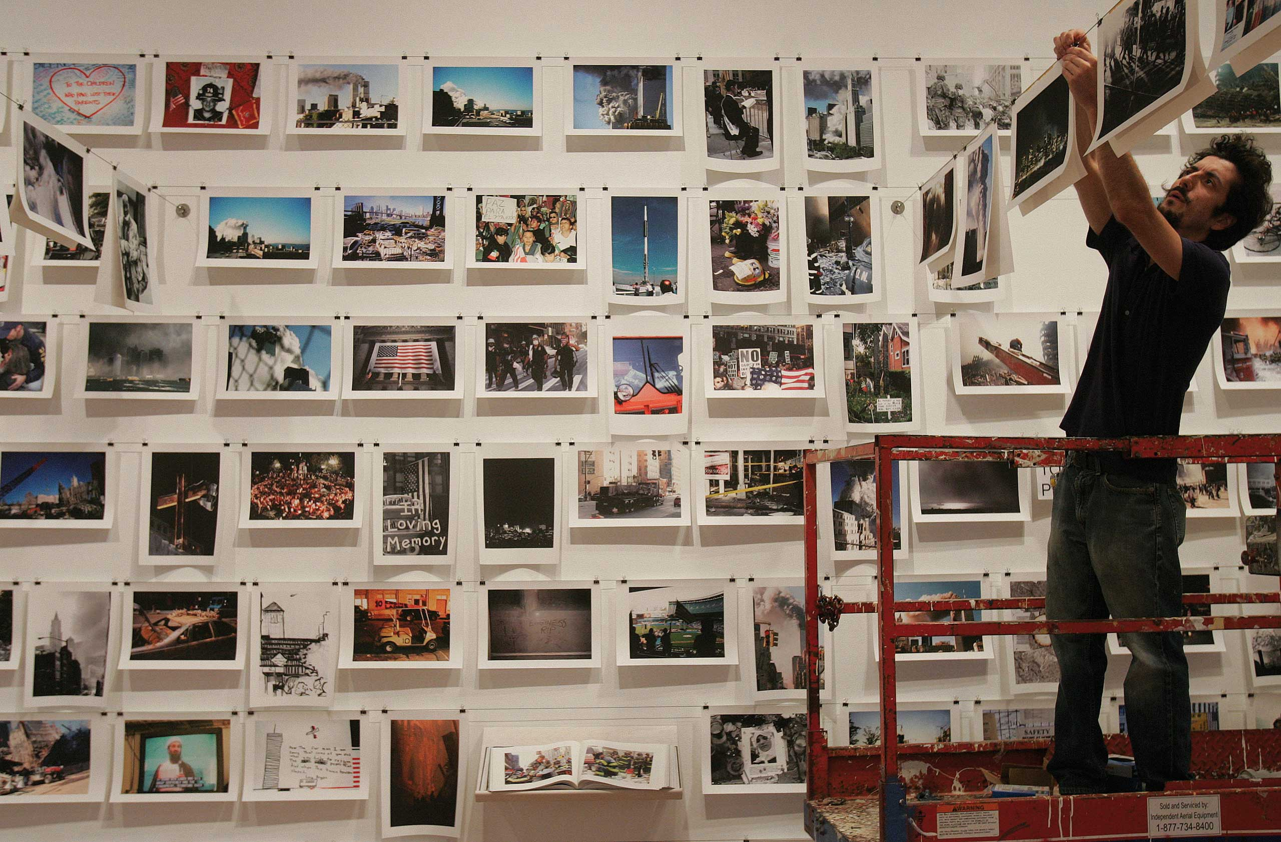 """Here is New York: Remembering 9/11"" Exhibit"