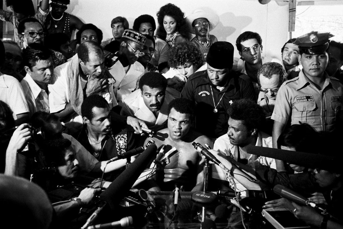 The Philippines, Manila : Muhammad Ali versus Joe Frazier