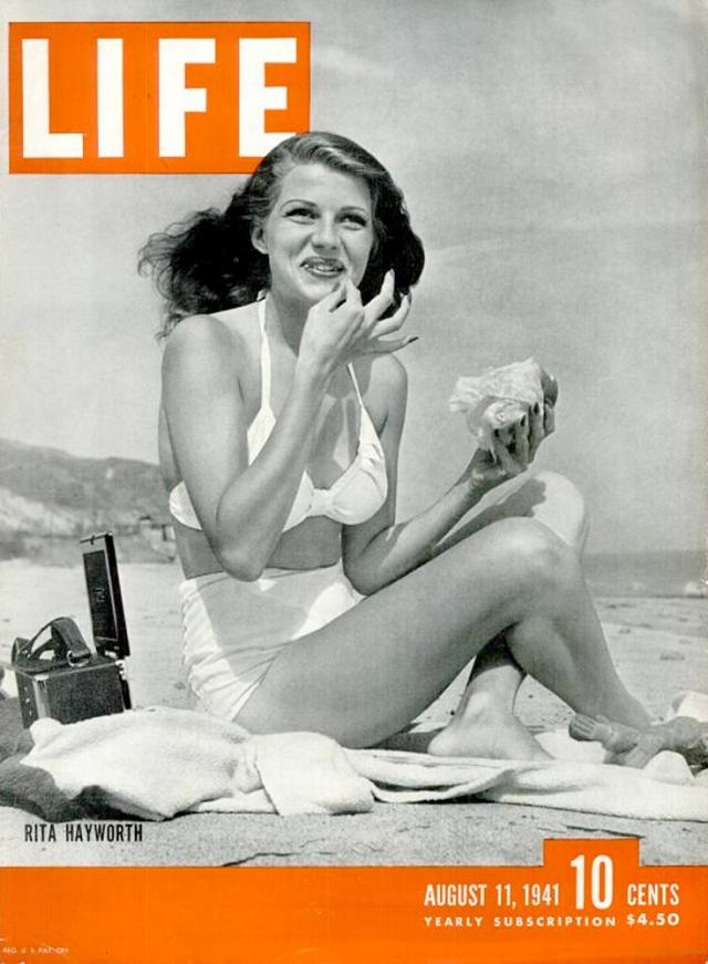 Rita Hayworth 1941, LIFE magazine cover