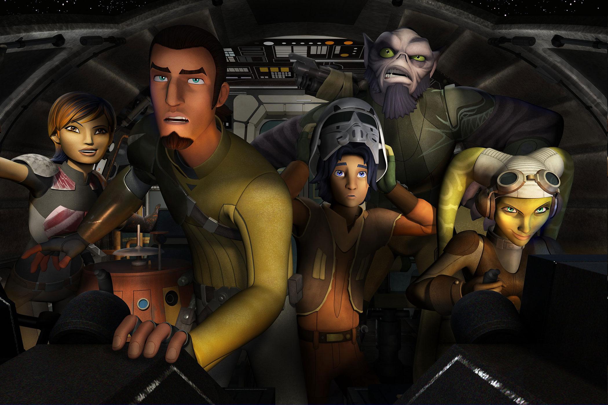 Star Wars: Rebels - Ezra Bridger by KikiRDCZ on DeviantArt