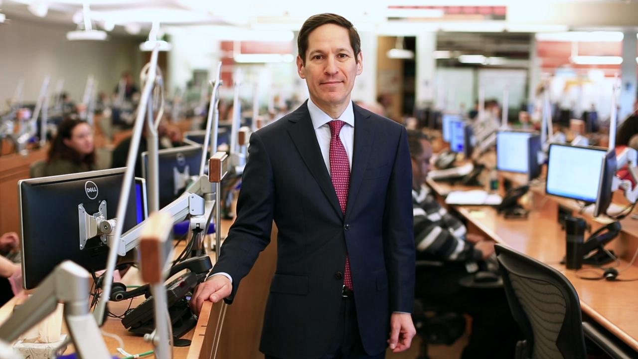 Director of the Centers for Disease Control and Prevention Dr. Tom Frieden
