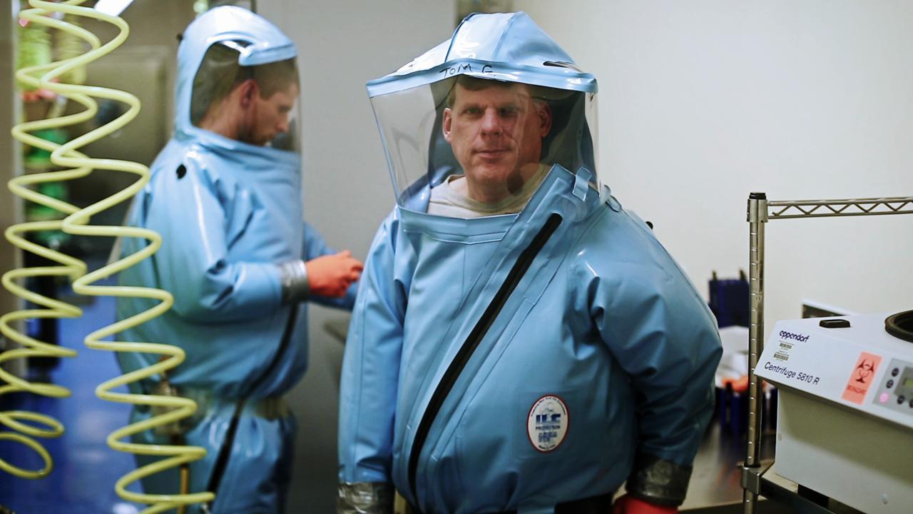 Virologist Dr. Thomas Geisbert