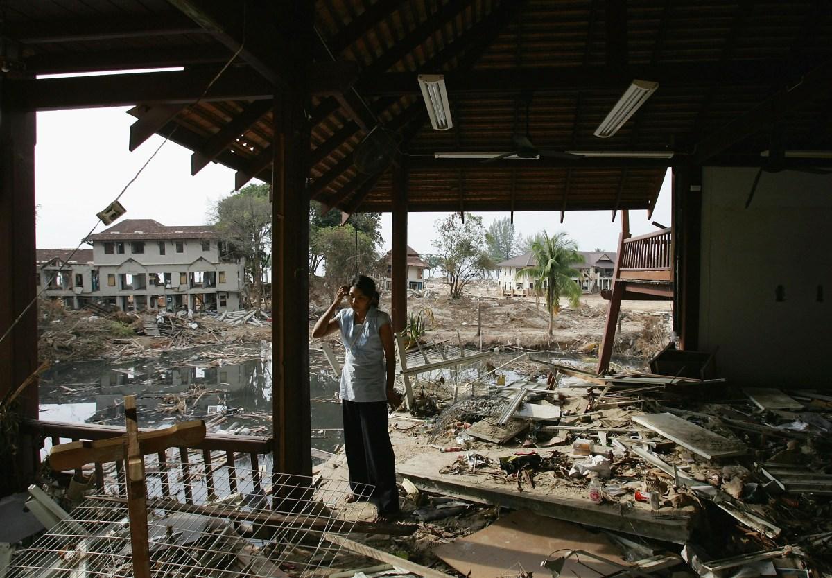 Tsunami Relief Effort Continues In Thailand