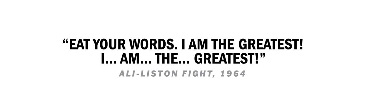 Ali Quote Liston Fight 1964