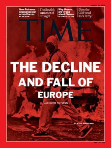 TIME Magazine cover, Aug. 22, 2011
