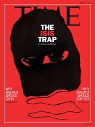 ISIS Trap Time Magazine Cover