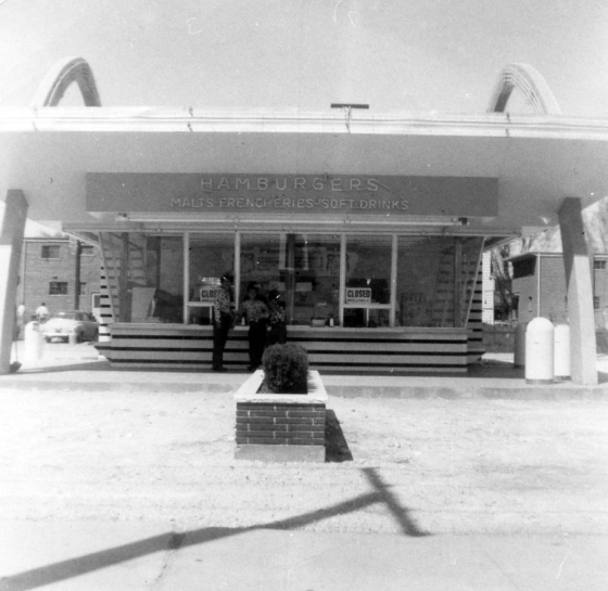 Ray Kroc Opens his First McDonald's in Des Plaines, Illinois on April 15, 1955