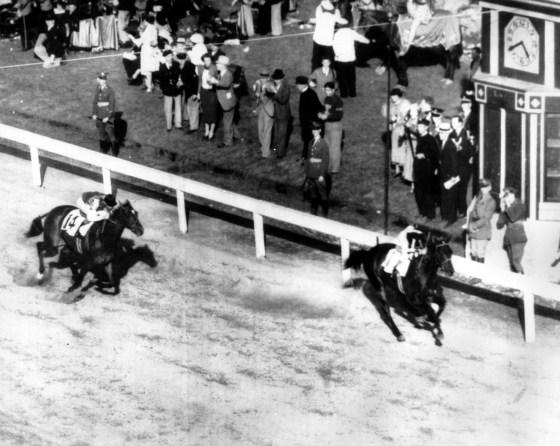 War Admiral Wins the 1937 Kentucky Derby