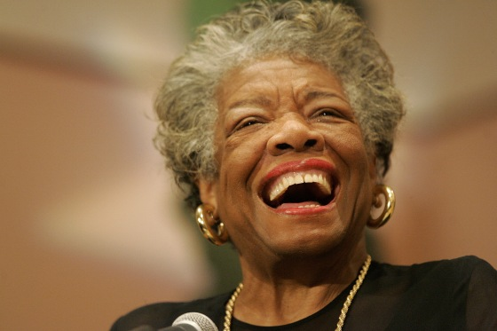 Poet and novelist Maya Angelou at a Sickle Cell Disease Association of America program in Mobile, Ala. on Sept 12, 2006.