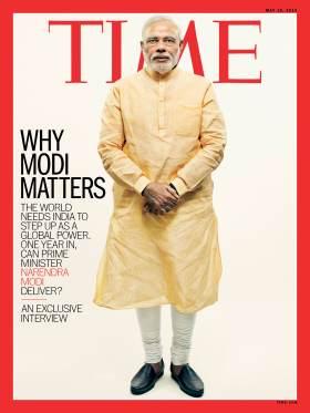 Why Narendra Modi Matters Time Magazine Cover