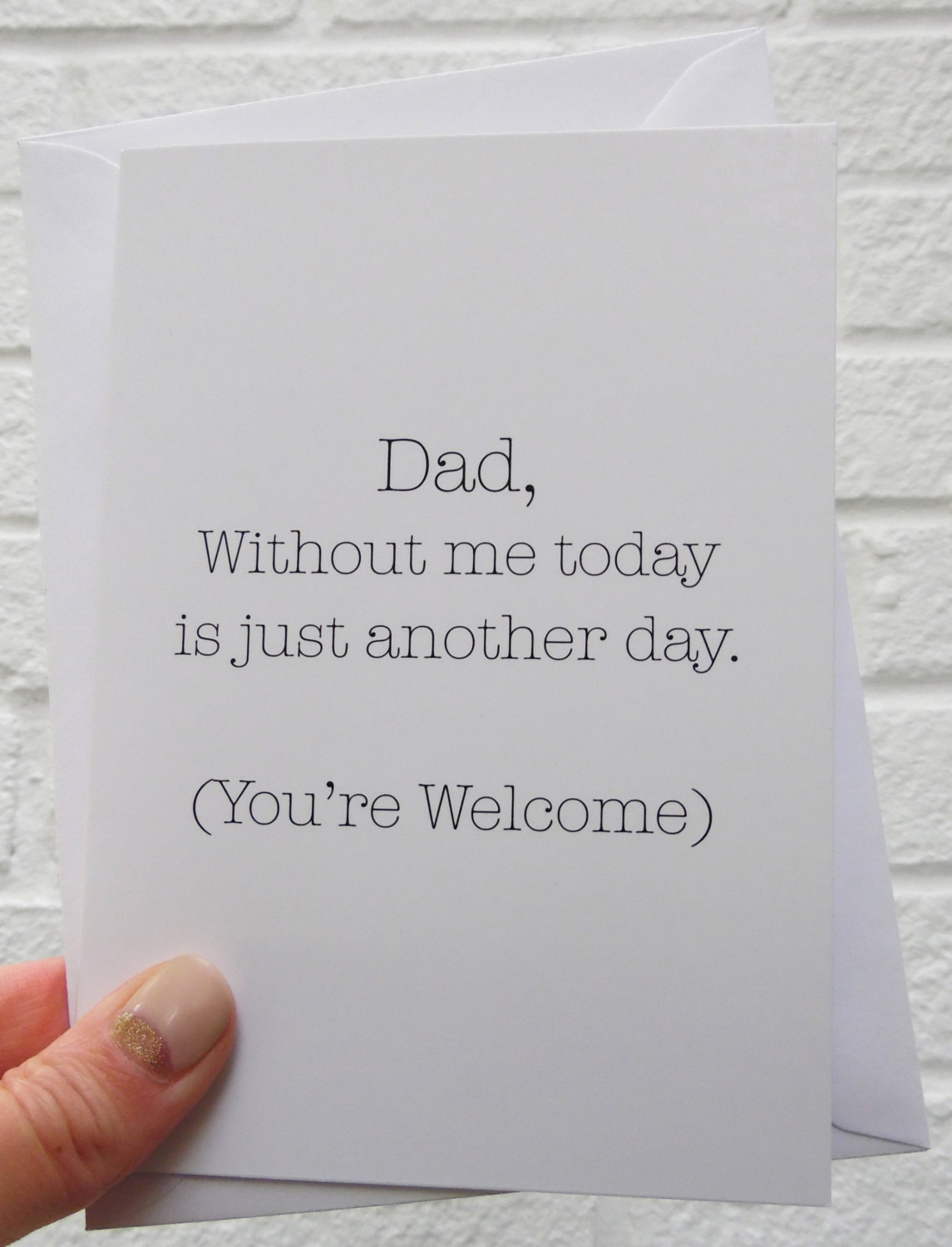 Funny Fathers Day Card Happy Fathers Day Card Funny Fathers Day Gift