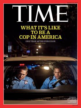 Cops in America Time Magazine Cover