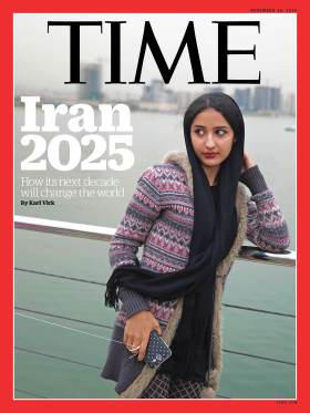 Iran 2025 Time Magazine Cover