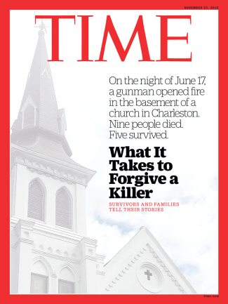 Charleston Church Time Magazine Cover