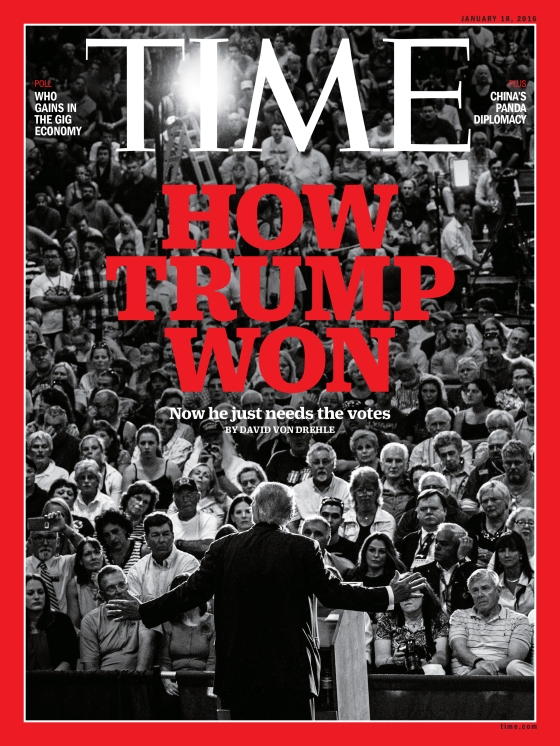 How Trump Won Time Magazine Cover