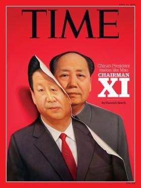 Xi Jinping as Mao Cover