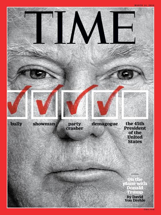 Donald Trump Time Magazine Cover