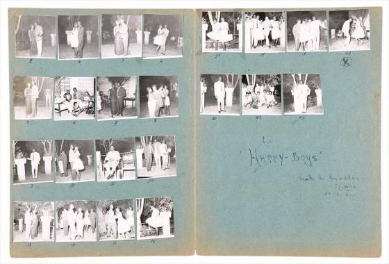 "Malick Sidibé - Les ""Happy Boys"", Feb. 25, 1963"