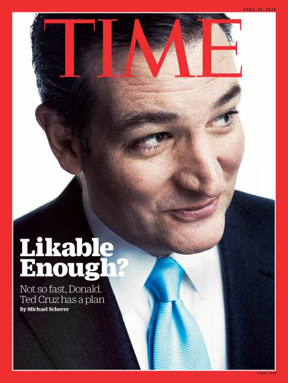 Ted Cruz Time Magazine Cover