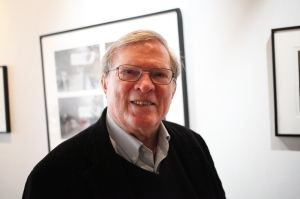 D.A. Pennebaker at the Morrison Hotel Gallery in New York City on May 19, 2016.
