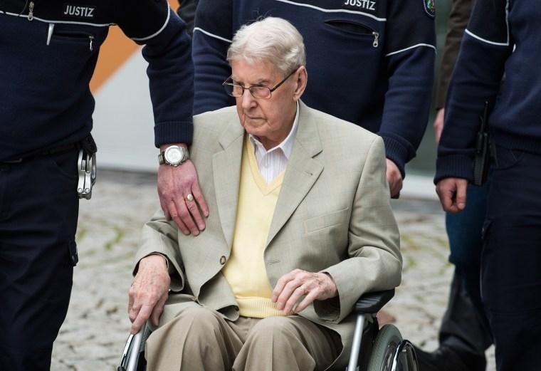 Prozesses gegen einen früheren Auschwitz-Wachmann
