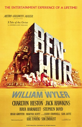 Original poster of Ben Hur from 1959.