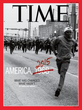 May 11, 2016 cover of TIME magazine with photo by Devon Allen.