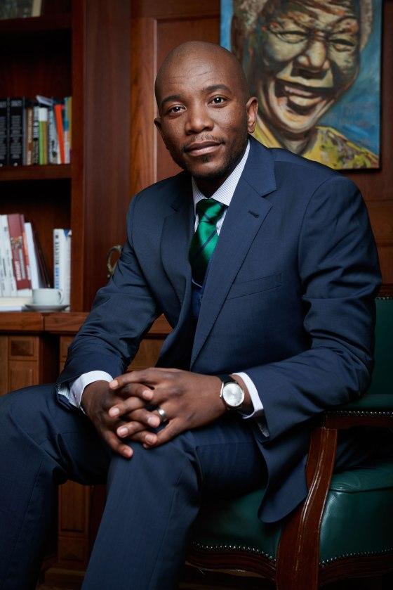 Maimane's oratorical skills have earned him comparisons to President Barack Obama