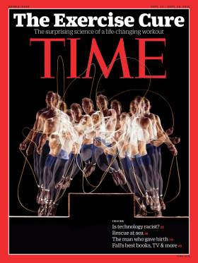 The Exercise Cure Time Magazine Cover