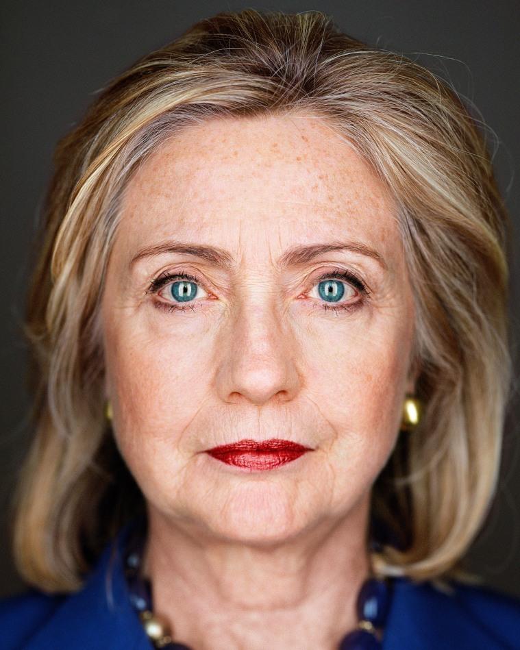 Martin Schoeller Hillary Clinton