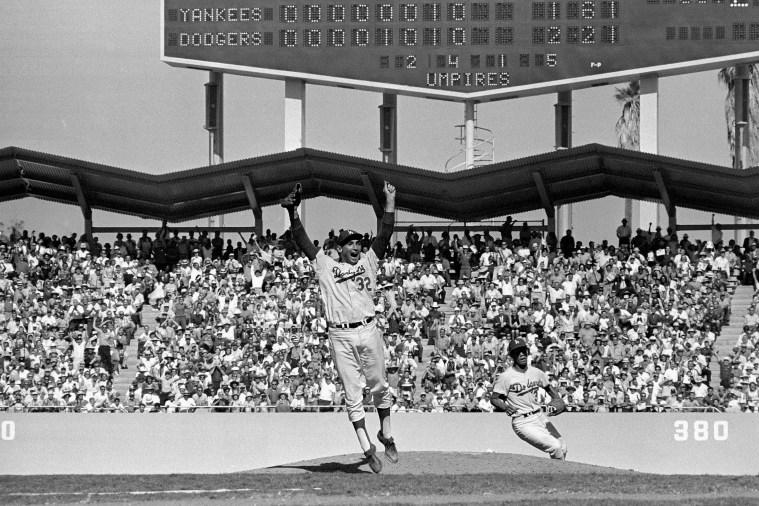 Los Angeles Dodgers vs New York Yankees, 1963 World Series