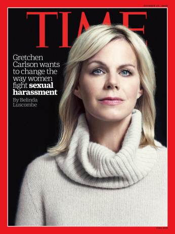 Gretchen Carlson sexual harassment Time Magazine cover
