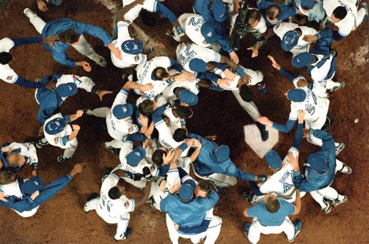 Toronto Blue Jays vs Philadelphia Phillies, 1993 World Series