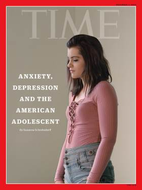 Anxiety Depression American Adolescent Time Magazine Cover