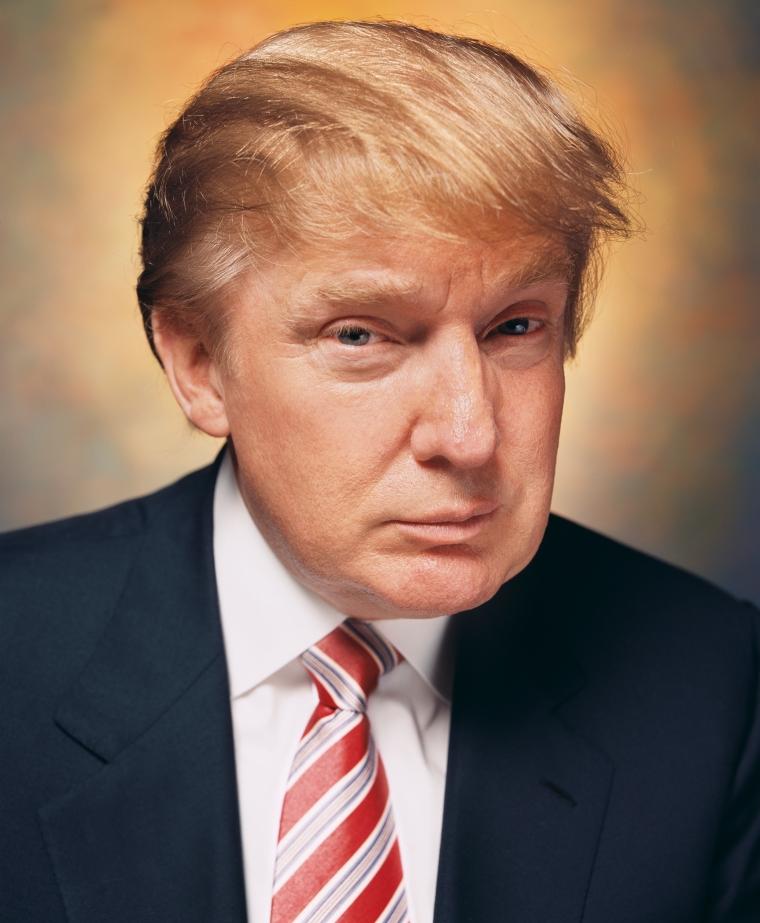 Andres Serrano Donald Trump