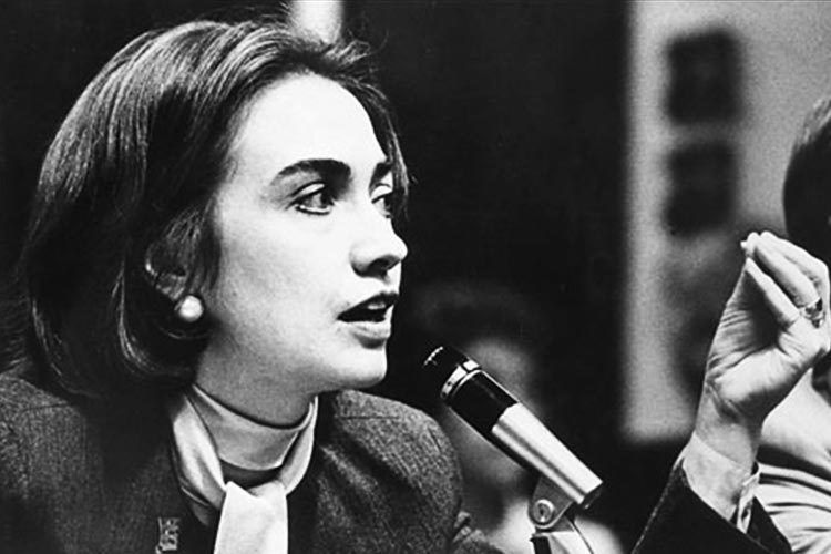 After law school, Hillary Clinton went to work for the Children's Defense Fund.