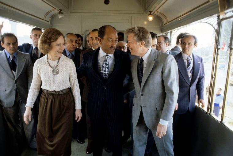 President Jimmy Carter in Egypt