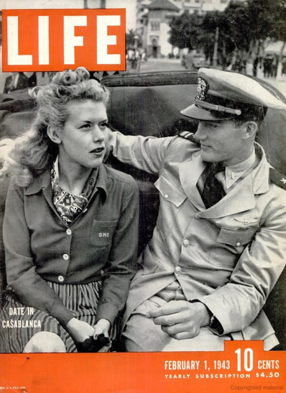 February 1, 1943 cover of LIFE magazine.