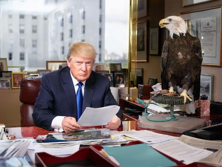 Martin Schoeller Donald Trump