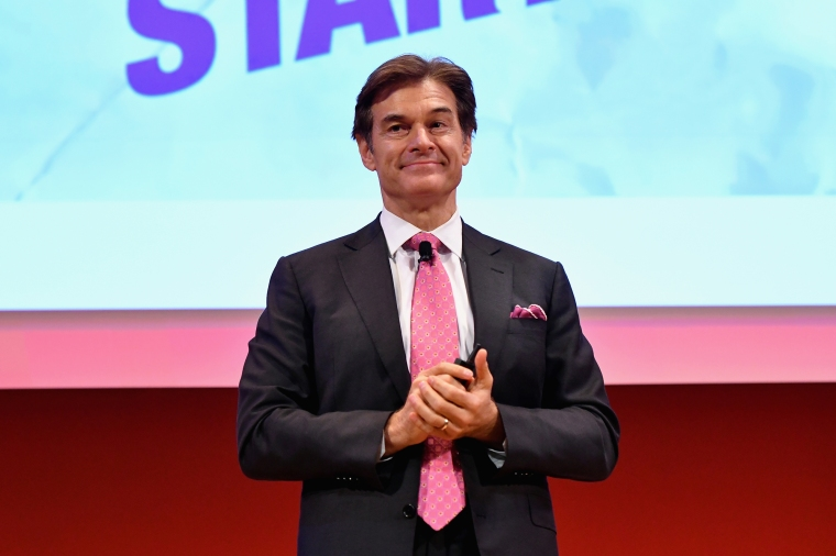 Dr. Mehmet Oz speaks onstage at the Good Health is Good Business panel at 2016 Advertising Week New York on Sept. 29, 2016 in New York City.